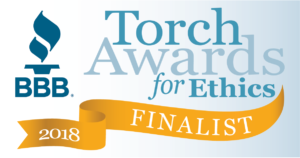 BBB torch awards finalist 2018